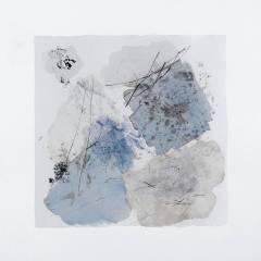 2019, 40x40 cm, technique mixte sur papier